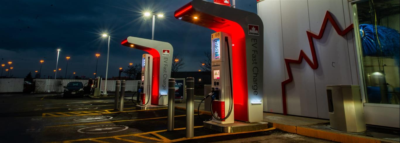 Petro-Canada fast charger DC in Milton Ontartio