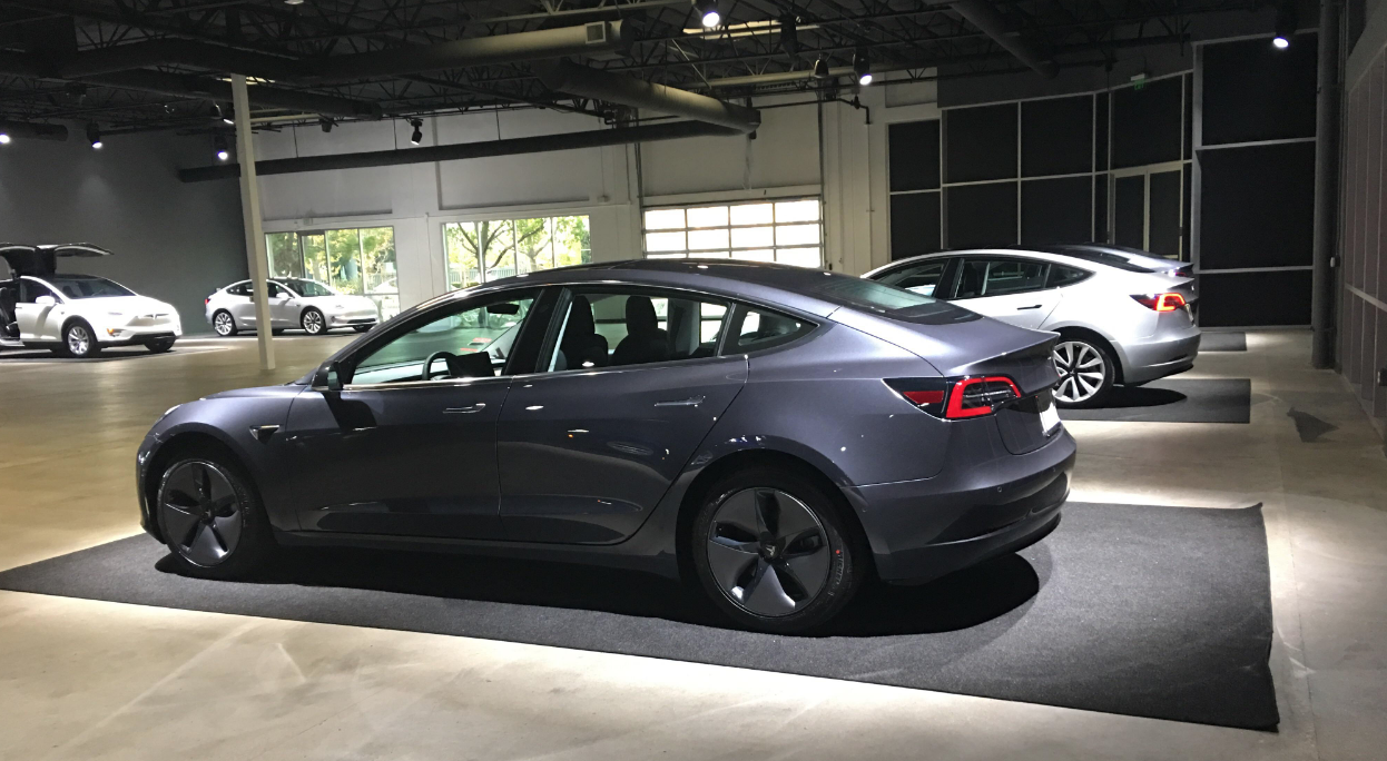 Tesla Delivery Centre