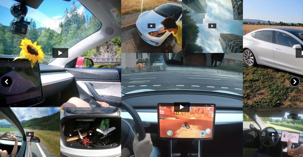 Life with Model 3 videos