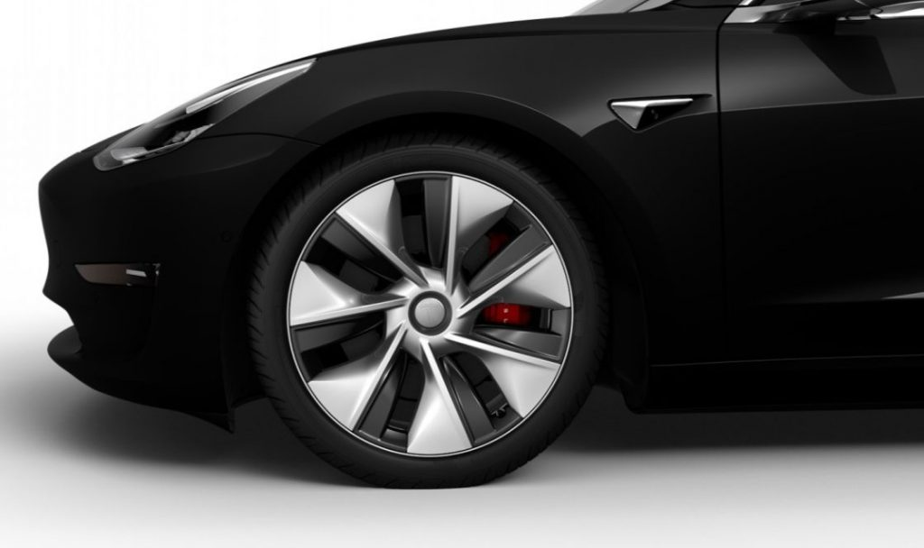 Model 3 Chinese Aero Wheels