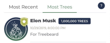 Musk donation to TeamTrees