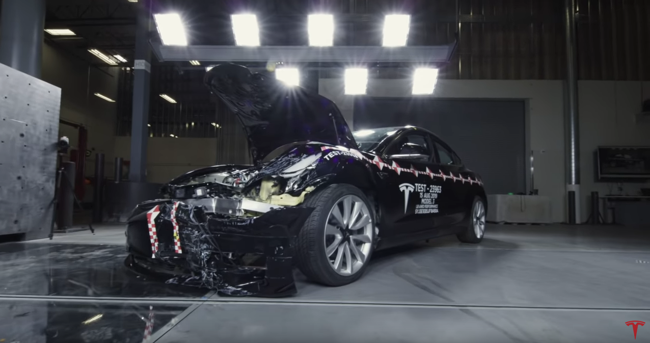 Tesla Crash Lab