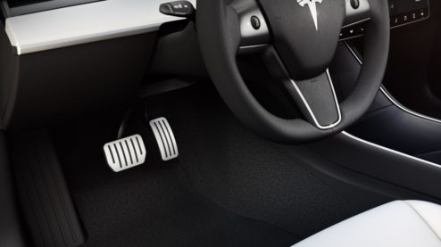 Tesla Model 3 Performance pedals