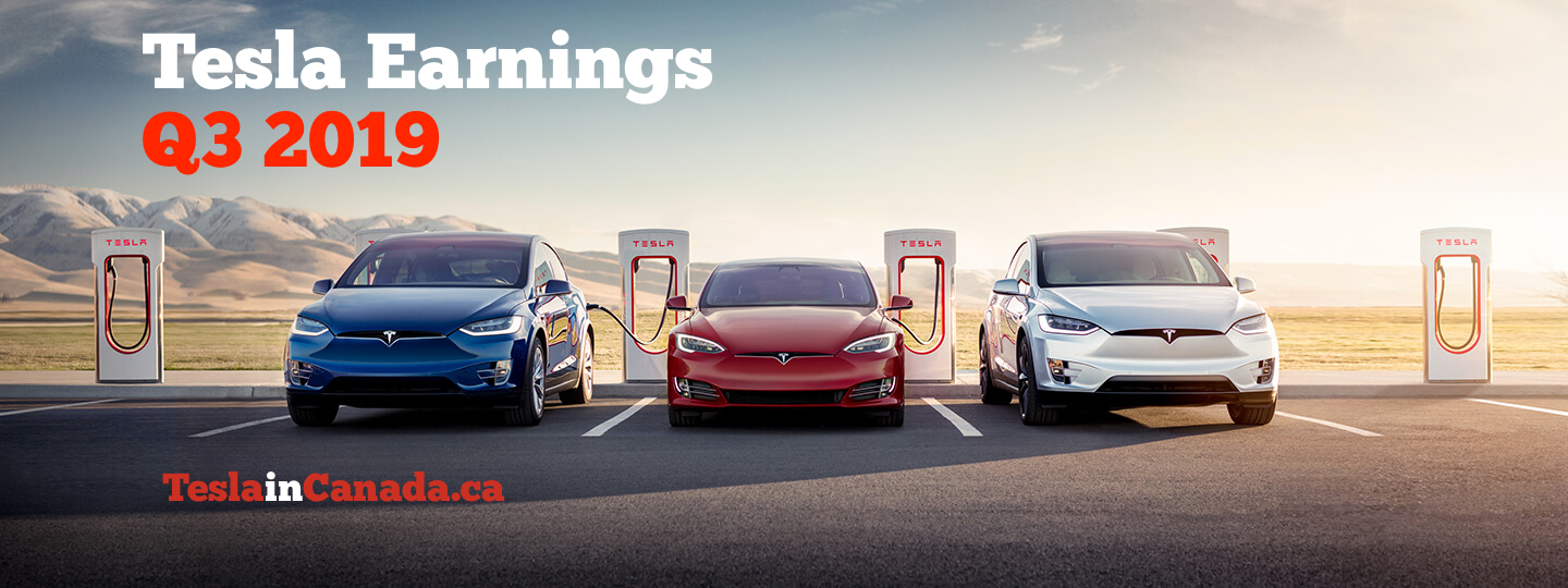 Tesla Q3 2019 earnings call