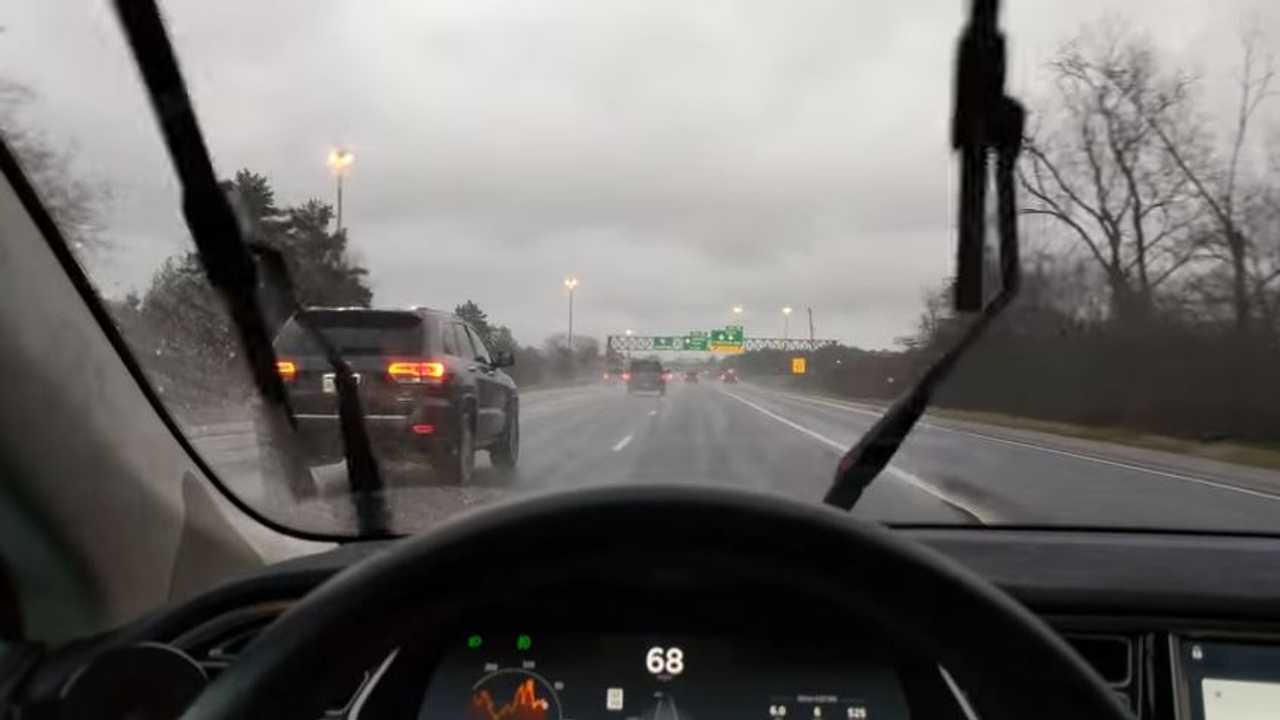 Tesla wipers