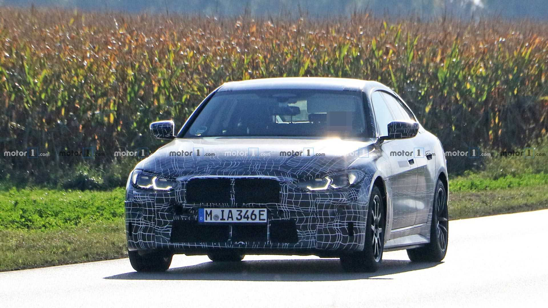 BMW i4 Spy Photo