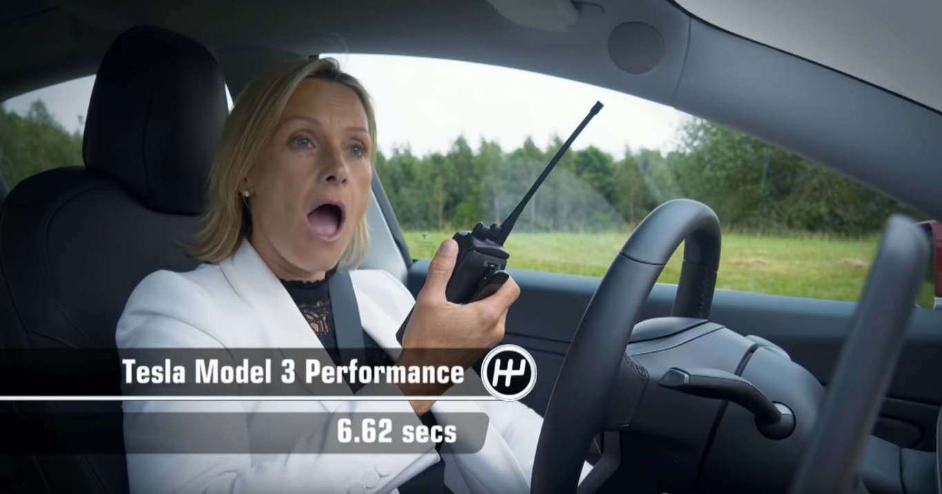 Fifth Gear Model 3 Performance