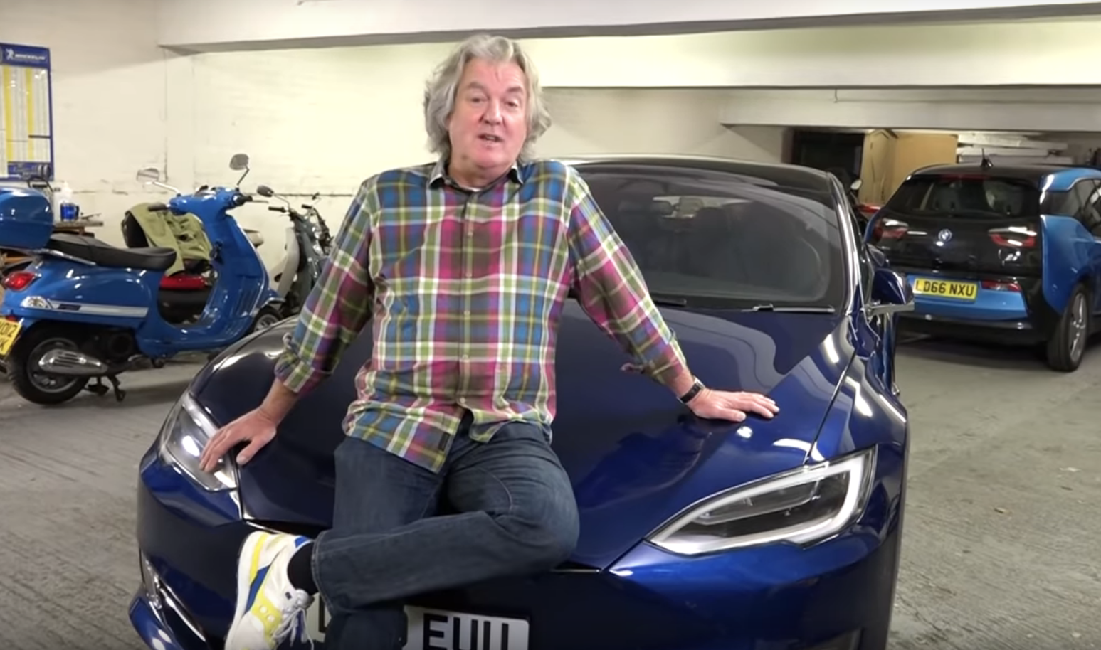 James May Tesla Model S