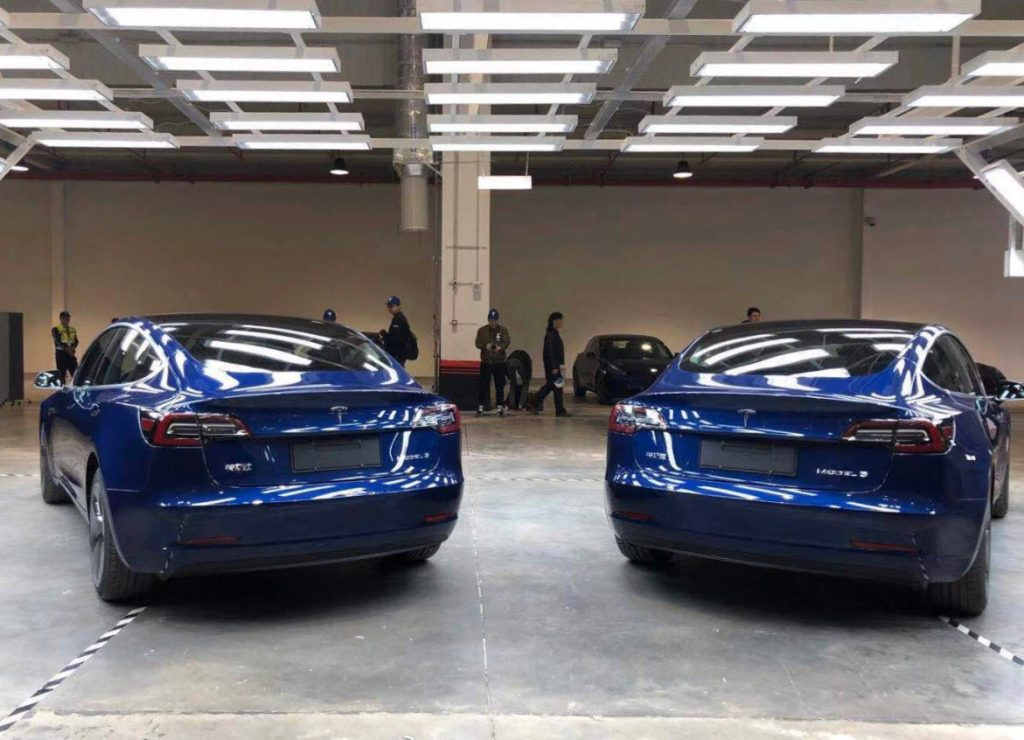 Made in Chine Model 3