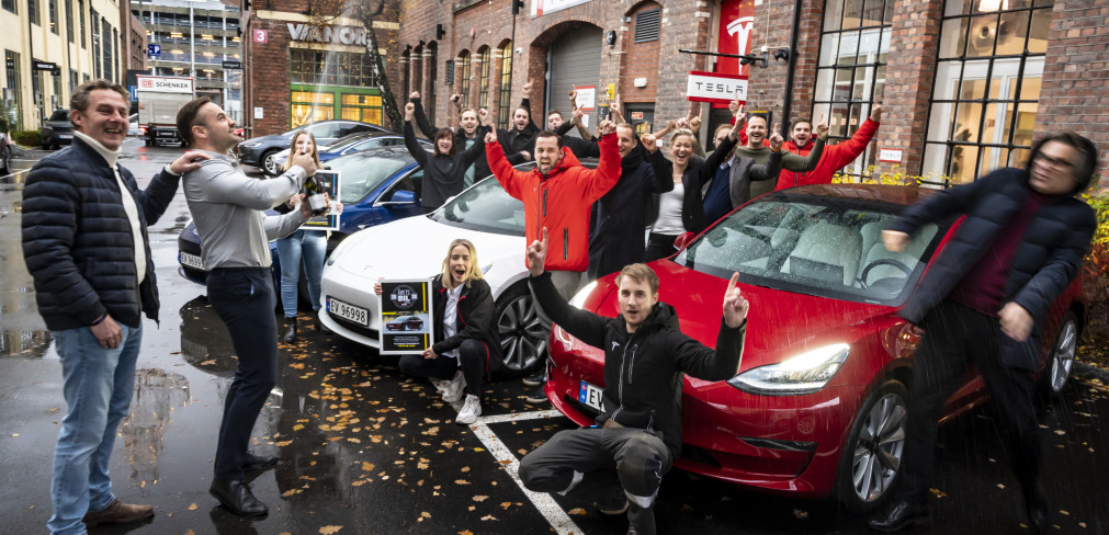 Tesla Model 3 Car of the Year Norway