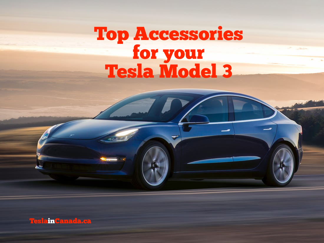 Tesla Model 3 Top Accessories