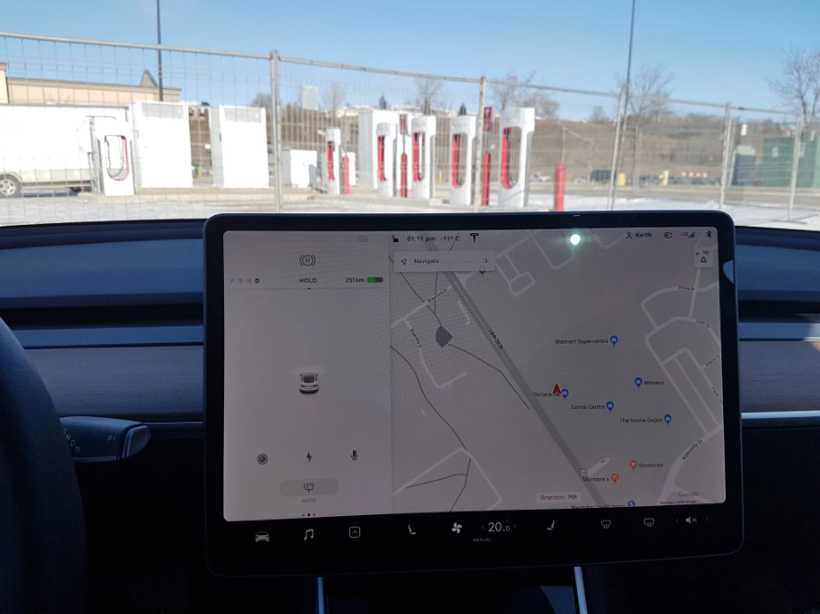 Tesla Supercharger Brandon MB