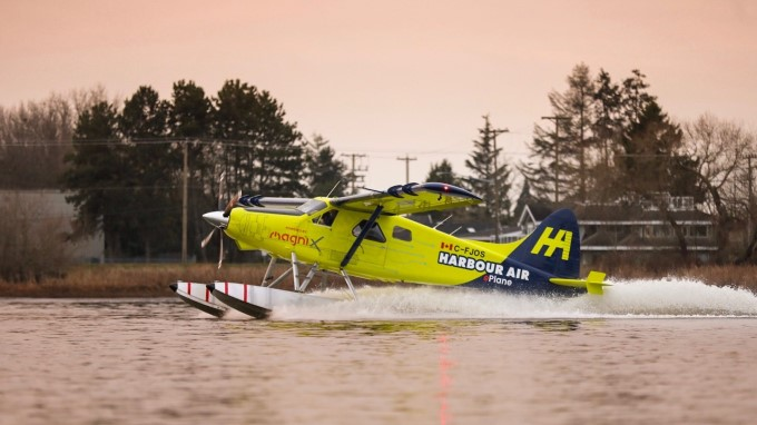 Harbour Air e-plane