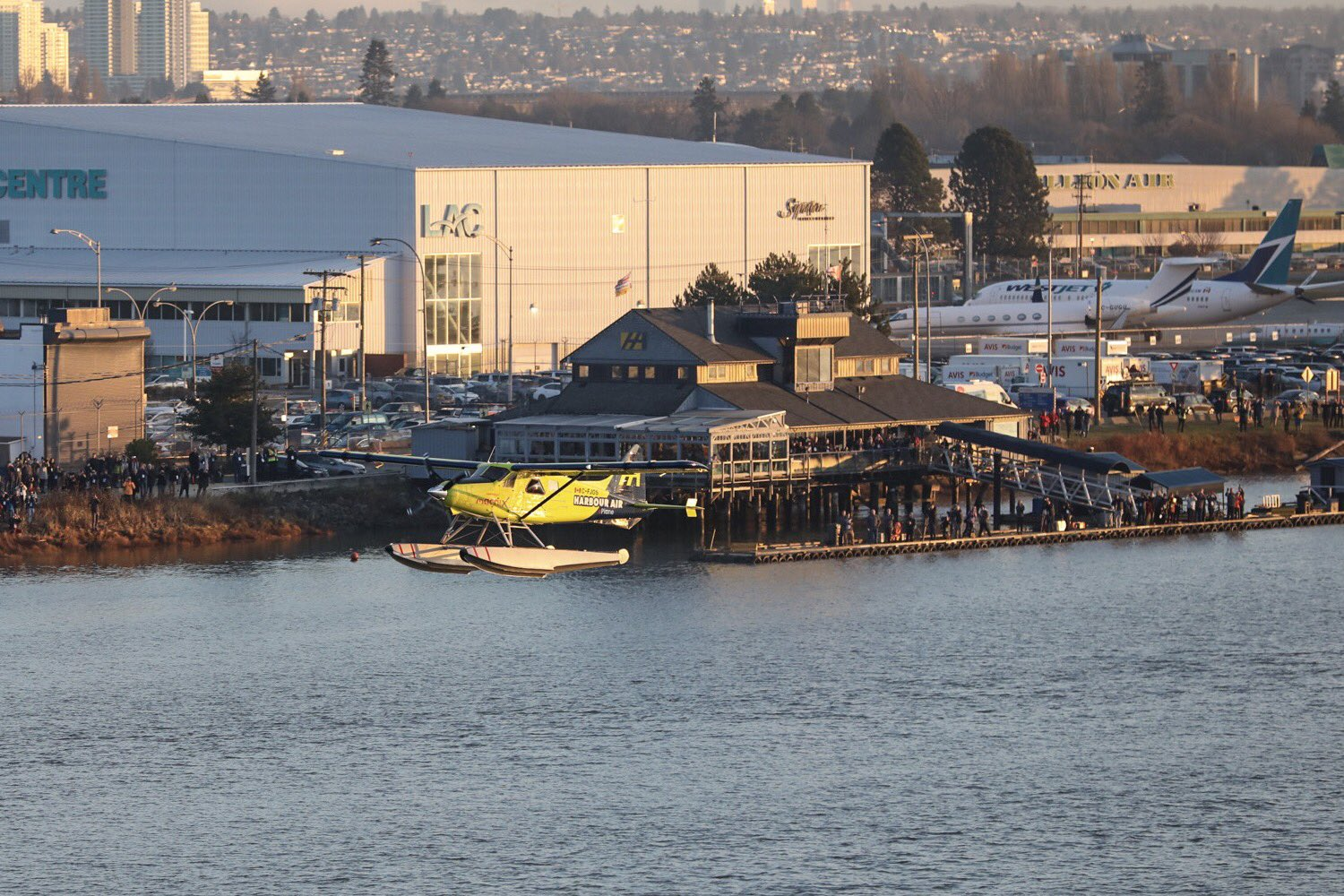 Harbour Air test flight