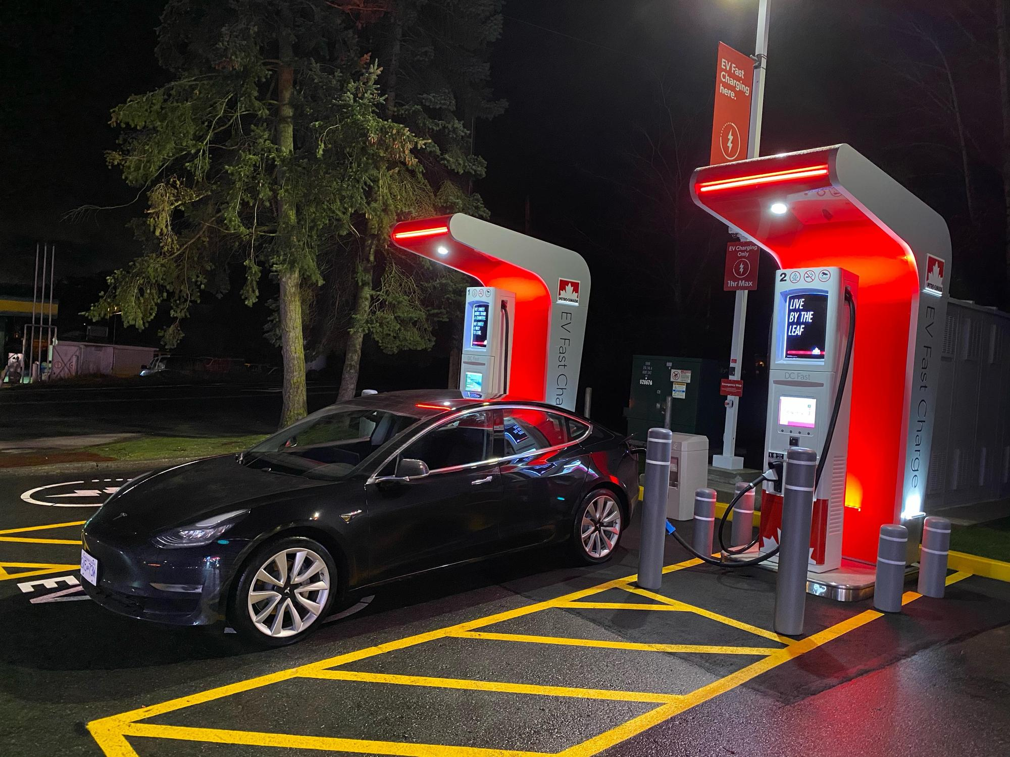 Petro-Canada Fast Charger Elk Lake