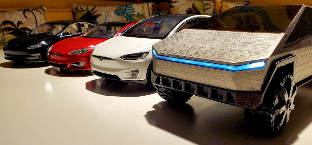 Tesla-Cybertruck-3D-Print-with-fleet