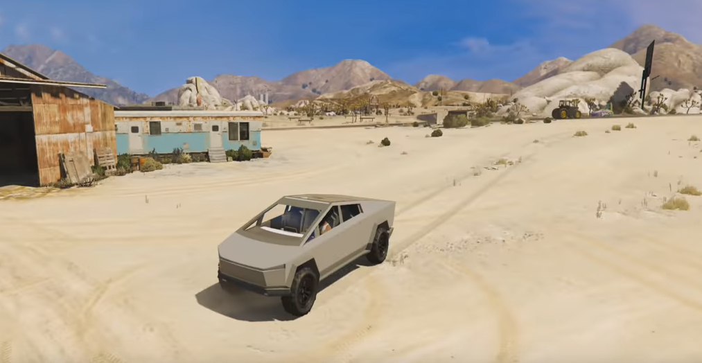 Tesla Cybertruck in GTA V
