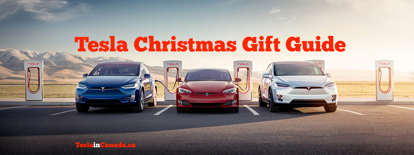 Tesla in Canada Christmas Gift Guide 2019