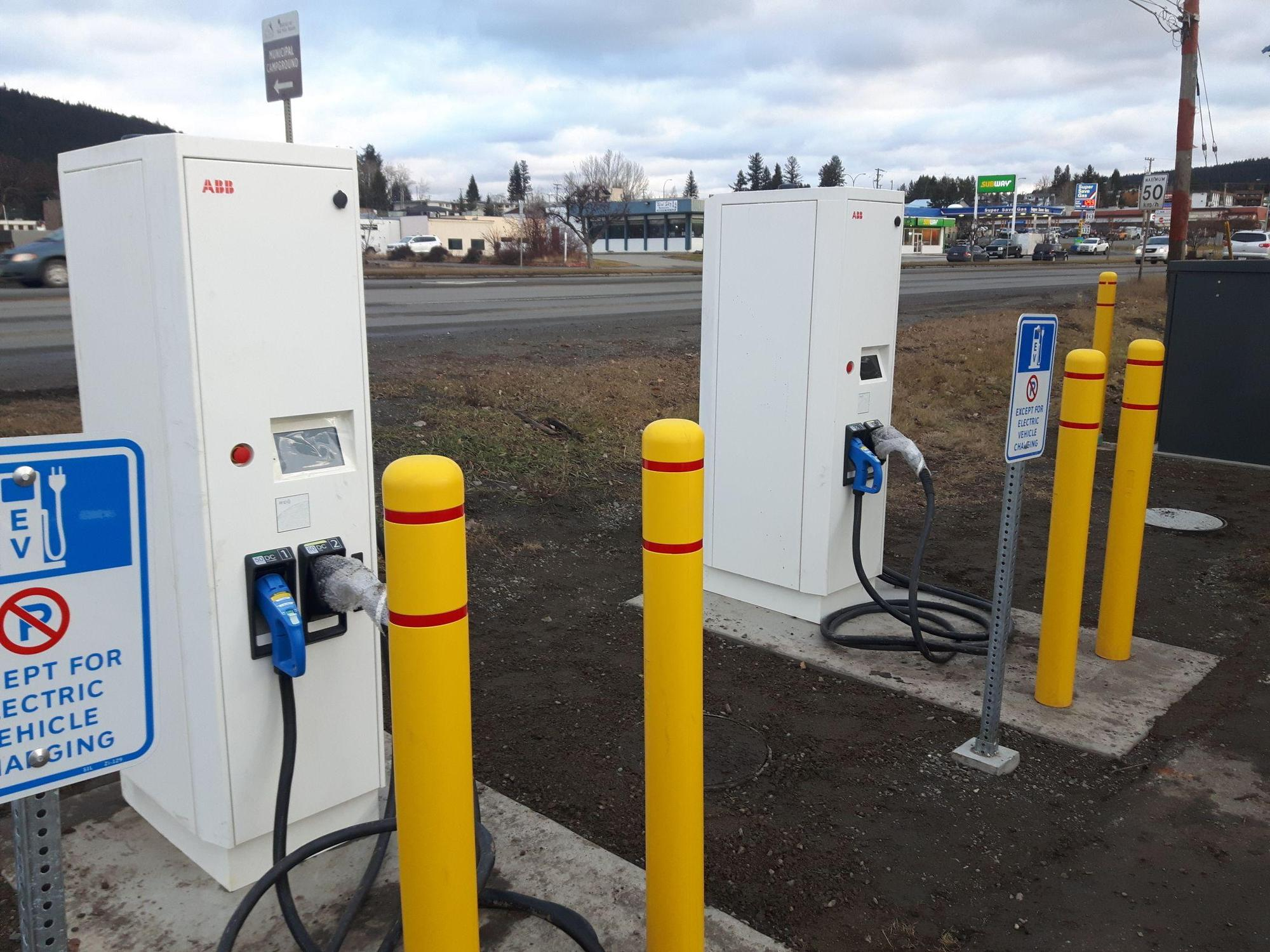 100 Mile House EV chargers 2