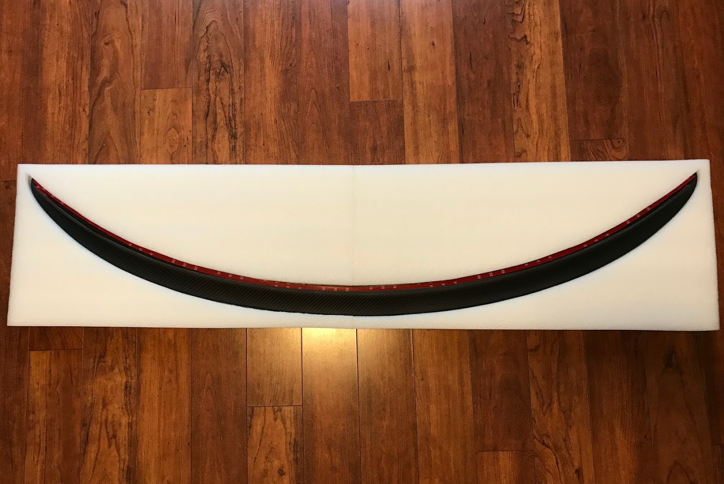 Model 3 spoiler packaging