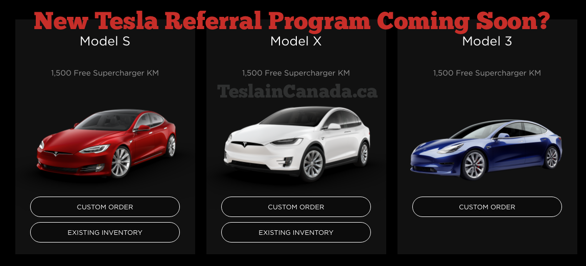 New Tesla Referral Program