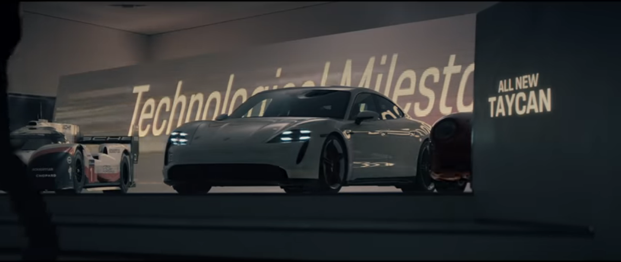 Porsche Super Bowl LIV commercial