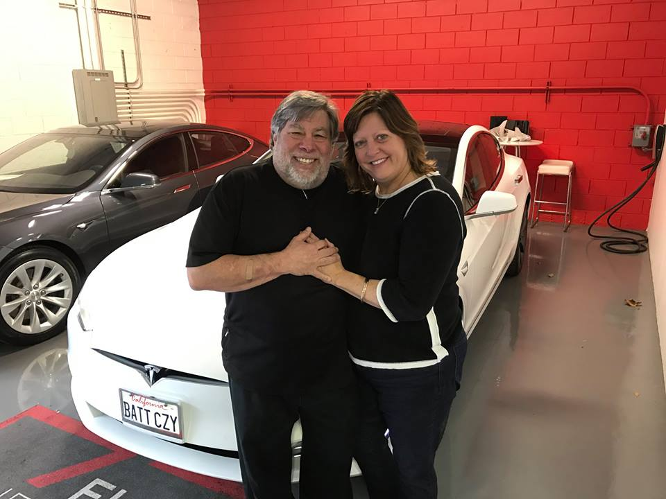Steve Wozniak Tesla Model S
