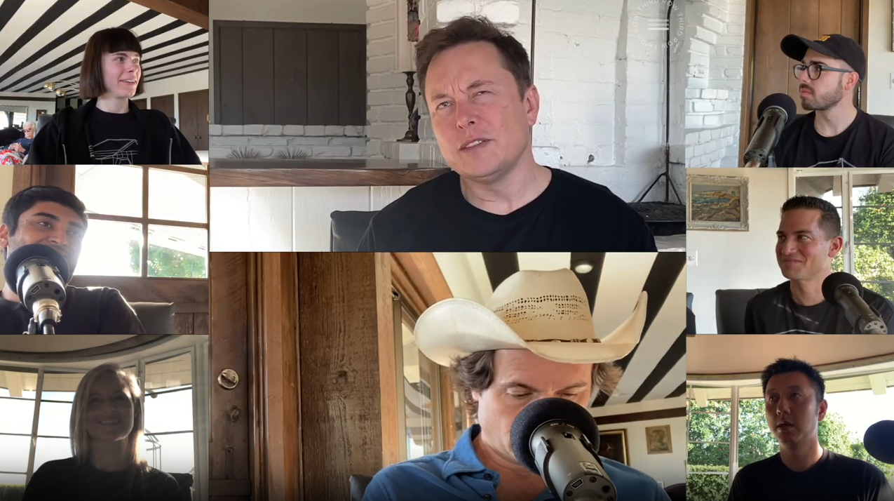 Thirdrow Podcast with Elon Musk
