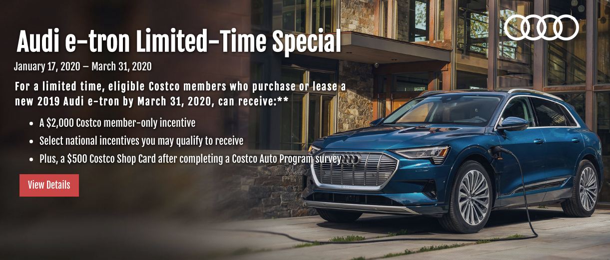 Costco Audi offer
