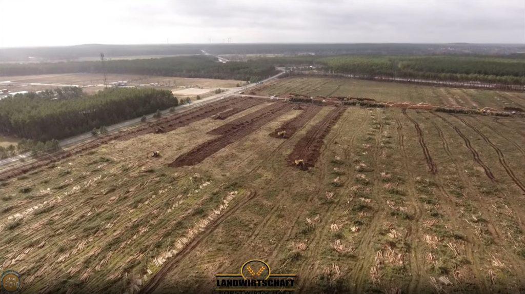 Giga Berlin site cleared