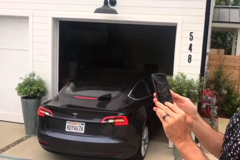 The AutoPark feature for the Tesla Model 3 is back, along ...