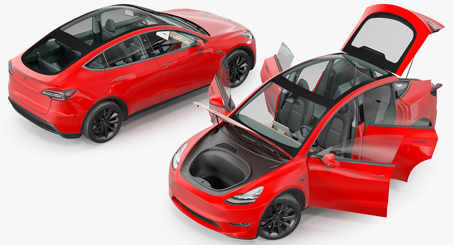 Tesla Model Y Turbosquid