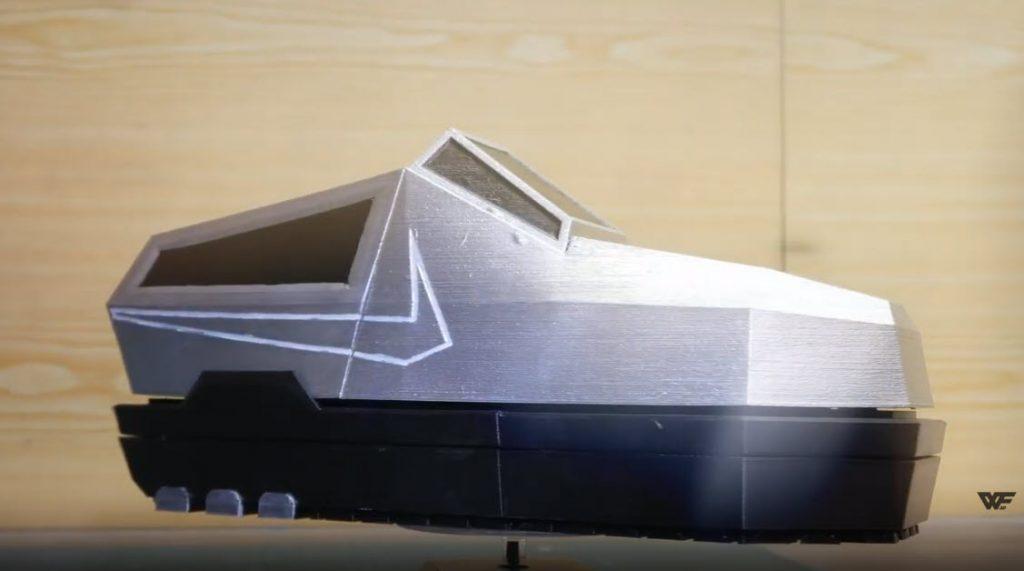 Cybertruck shoe