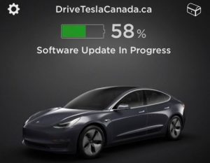 Drive Tesla Software Update