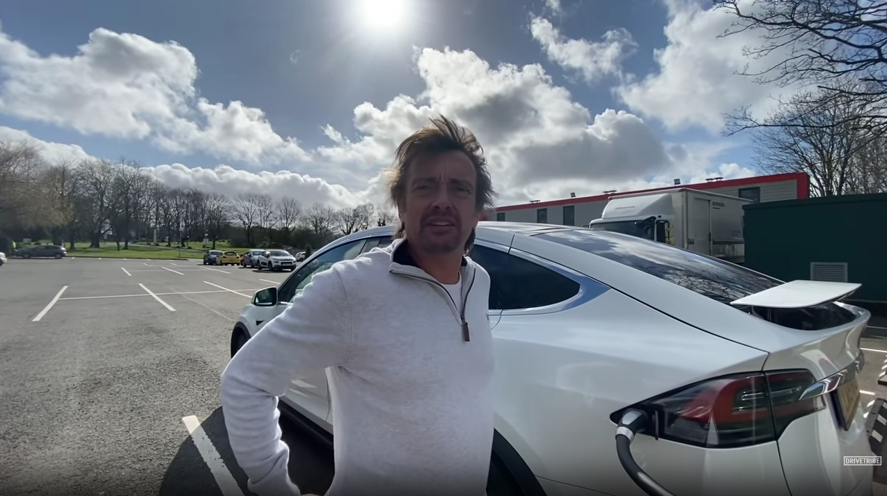 Richard Hammond Tesla Model X