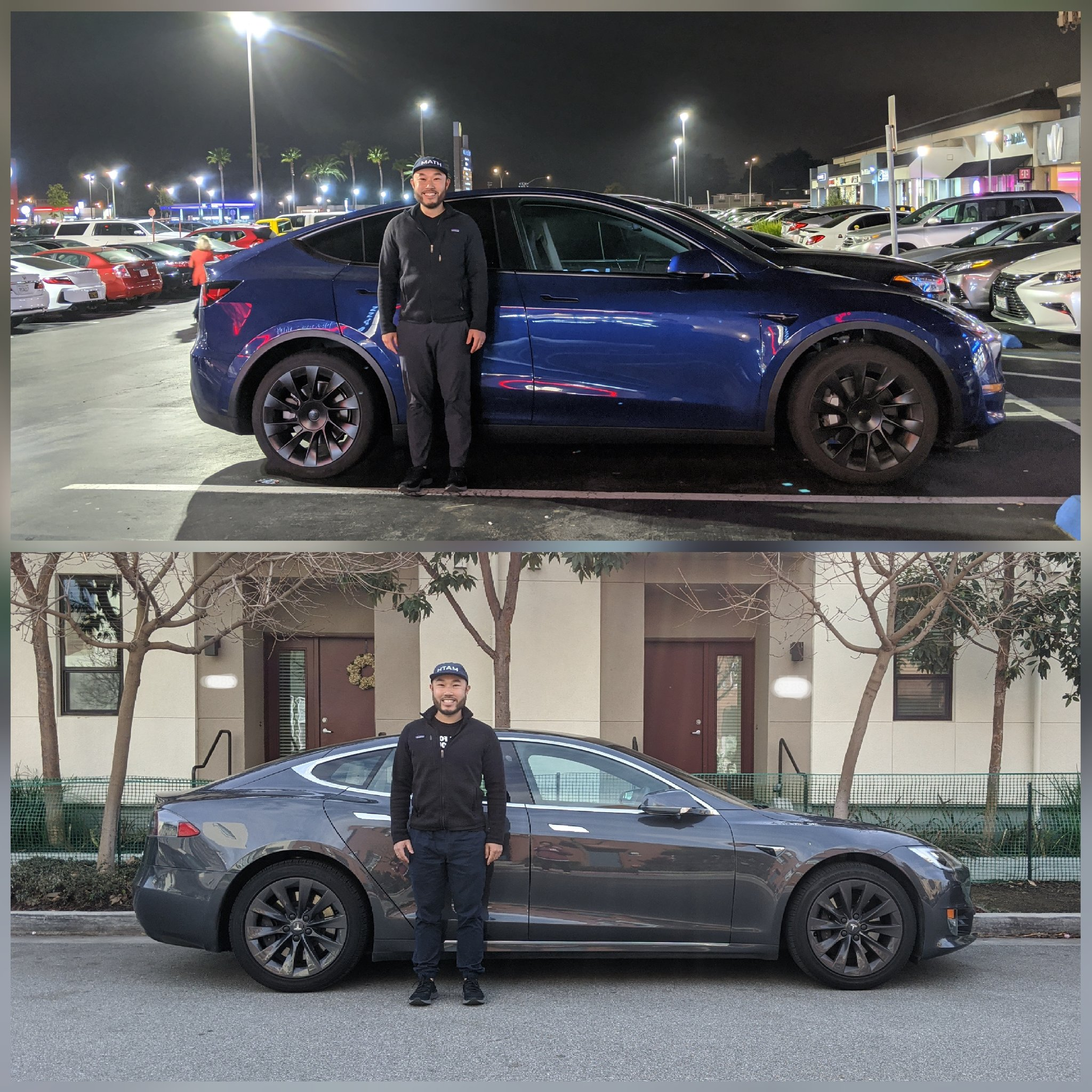 Tesla Model Y Model S size comparison