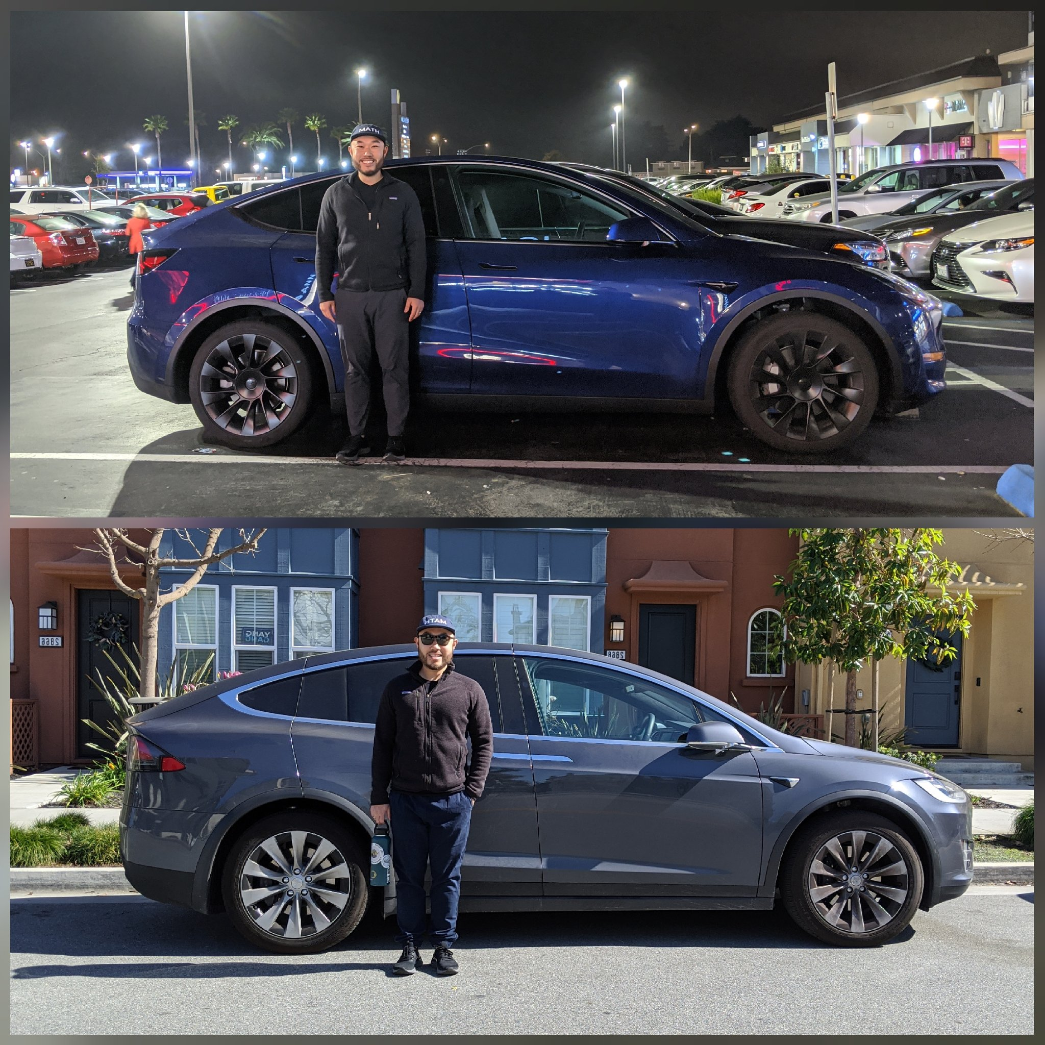 Tesla Model Y Model X size comparison