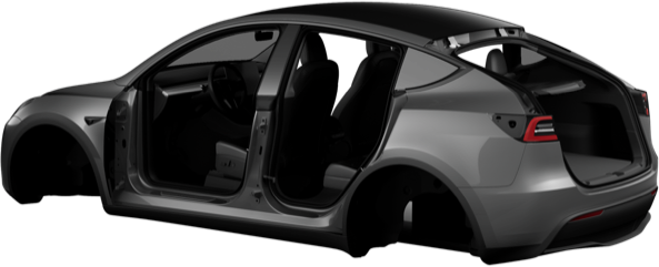 Tesla Model Y mobile app renders 5