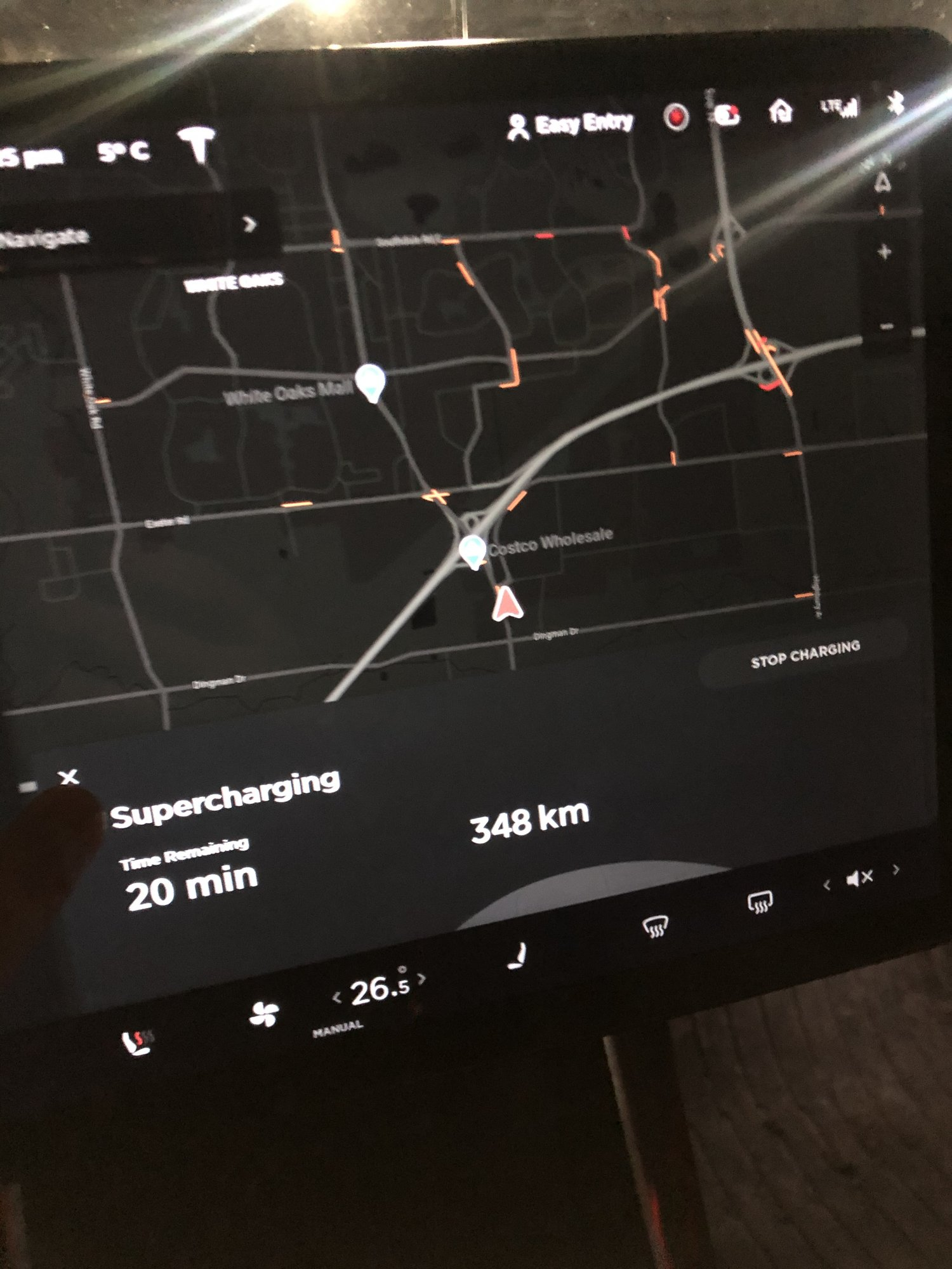 Tesla Supercharger London Ontario