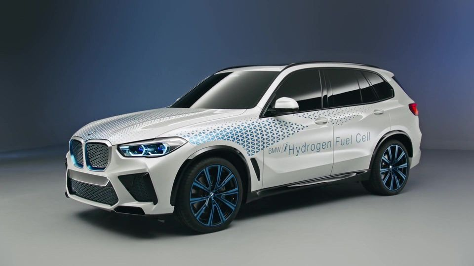 BMW Hydrogen Fuel Cell i NEXT