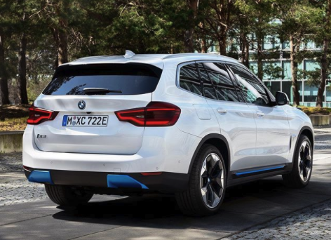 BMW iX3 leak rear