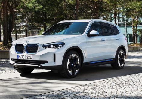 BMW iX3 leak front