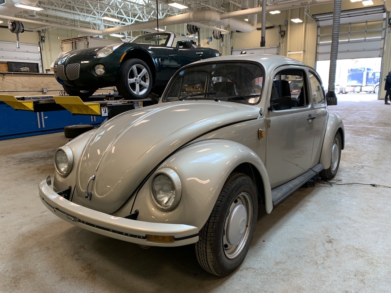 Nova Scotia Community College electric VW Beetle