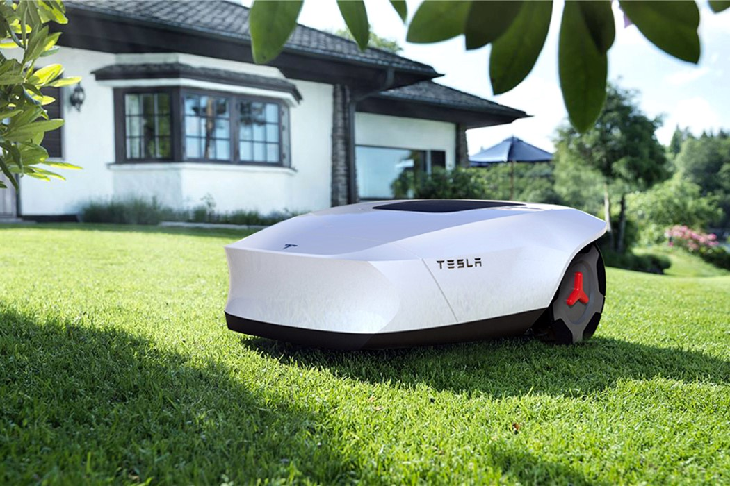 Tesla G lawnmower