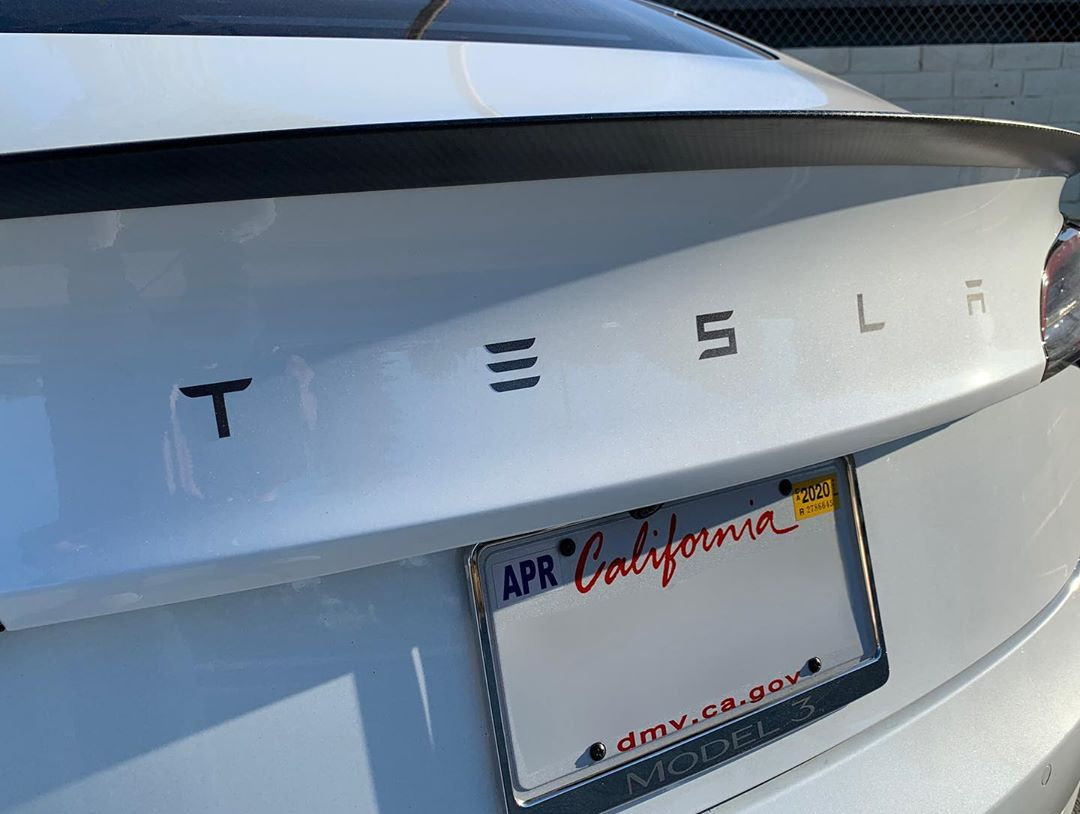 Tesla vinly lettering kit TesBros