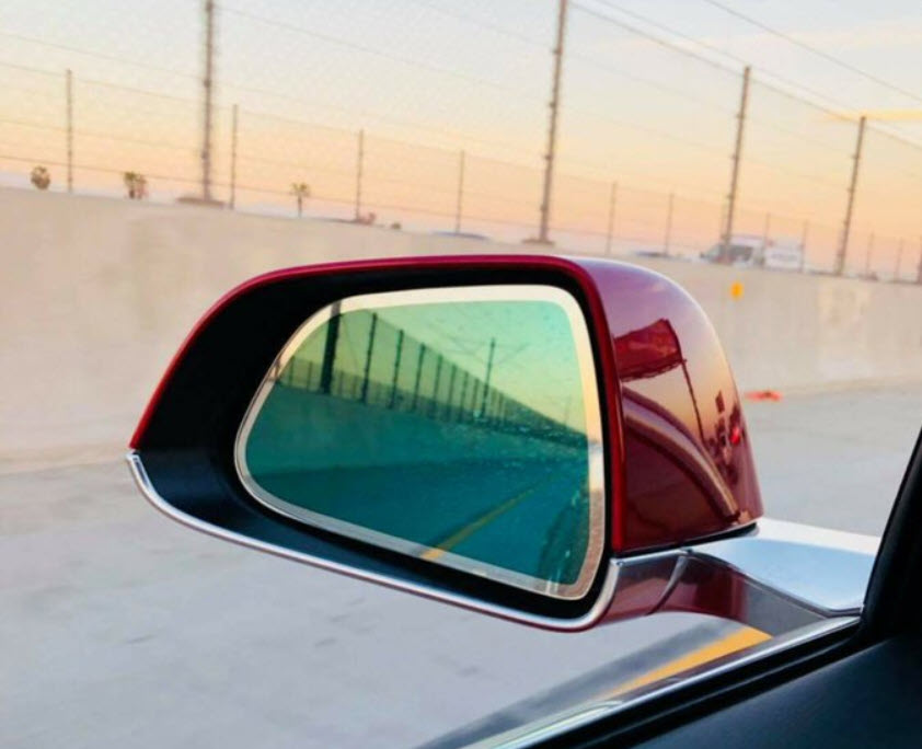 Auto Dimming Side Mirror Tesla Model 3