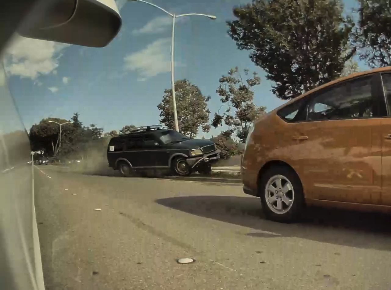 Union City road rage crash caught on TeslaCam