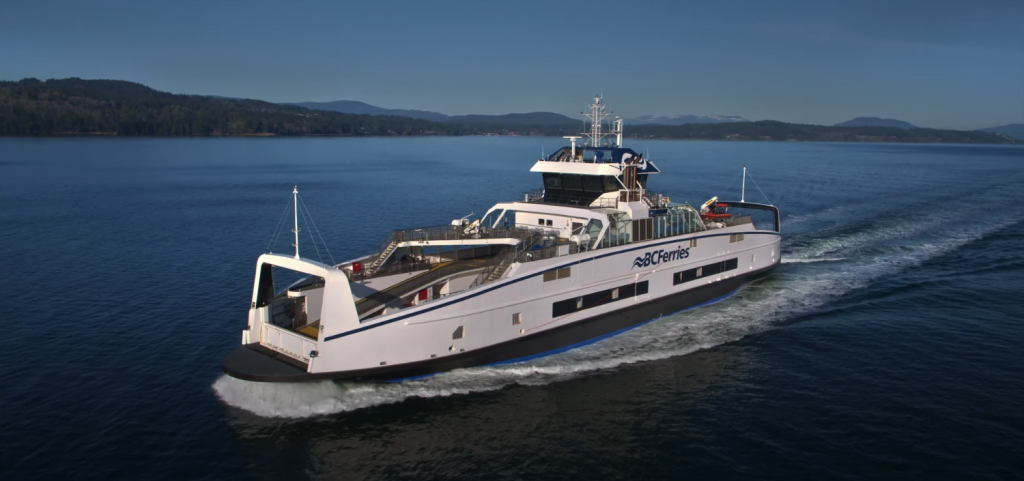 BC Ferries Island Discovery hybrid electric