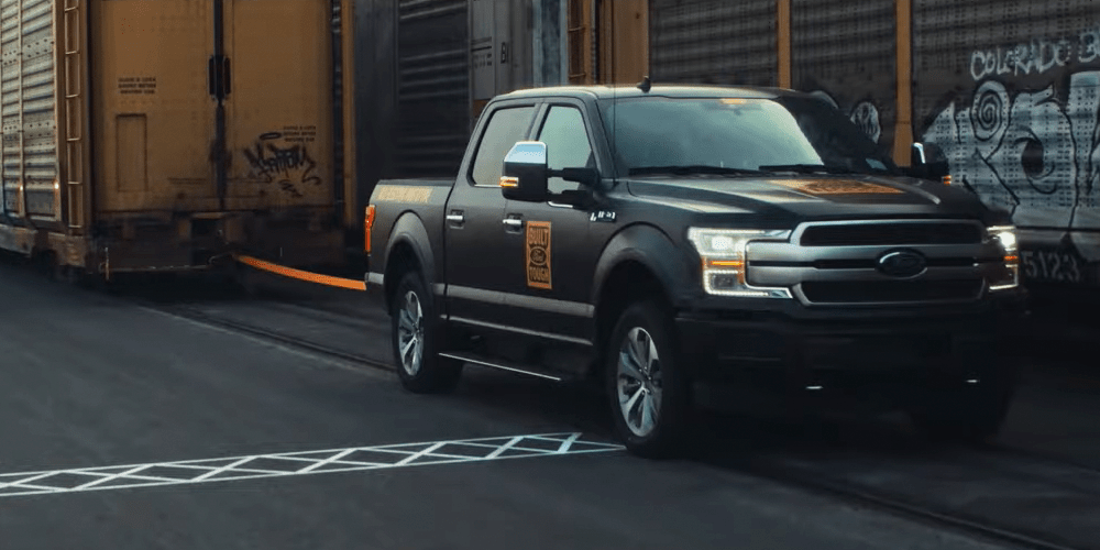 Ford electric f-150