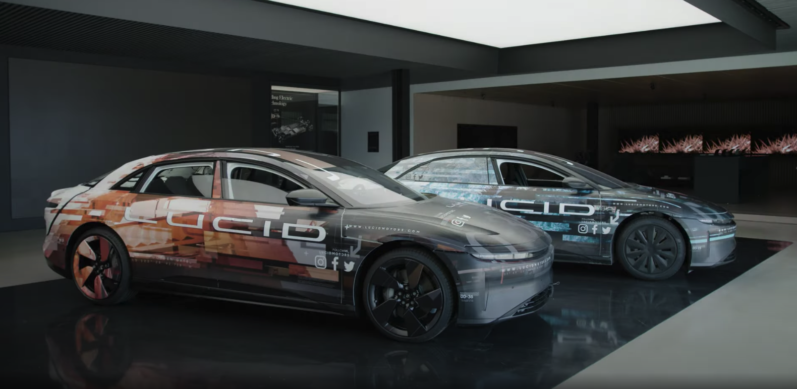 Lucid Air prototypes